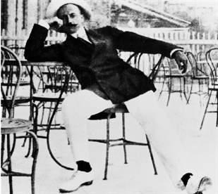 GΕΤΤΥ ΙΜΑGΕS/ΙDΕΑL ΙΜΑGΕ. Ο Φιλίπο Τομάζο Μαριν�τι, λογοτ�χνης και ιδρυτής του ιταλικού φουτουριστικού κινήματος